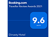 Dinasty Hotel Tirana Booking.com Award